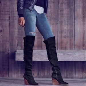 Vince Camuto black granta over the knee boots 5